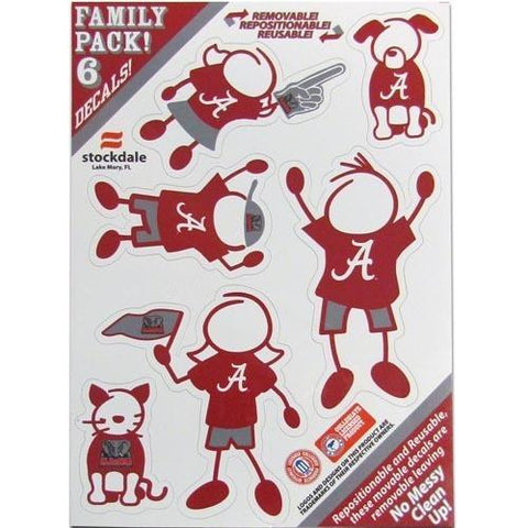 DISC ALABAMA FAM DECAL SM - Don't Abbreviate Me