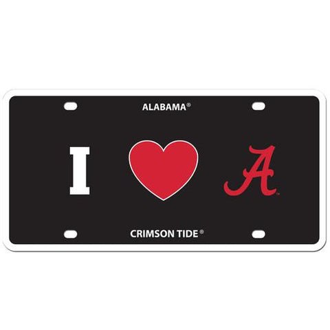 ALABAMA HEART LICENSE PLATE - Don't Abbreviate Me