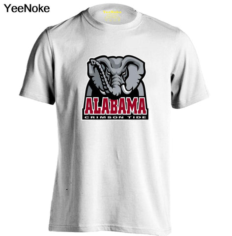 NCAA ALABAMA CRIMSON TIDE Mens & Womens Cotton T Shirt fashion style Comfortable T Shirt - Don't Abbreviate Me