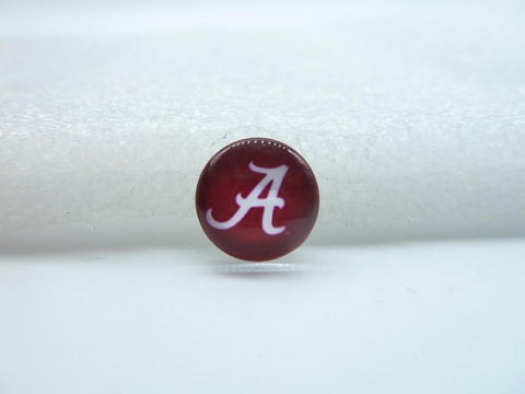 10pcs 12mm Handmade Photo Glass Cabochons ( Alabama Crimson Tide) GB33-35 - Don't Abbreviate Me