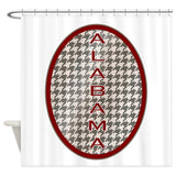 Alabama Shower Curtain  Decorative Fabric Shower Curtain Set Non-slip Bath Mat Set for Doormat Outdoor - Don't Abbreviate Me