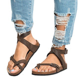 Unabbreviated Sandals with straps in style - Don't Abbreviate Me