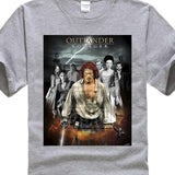 New Popular Go New Jamie Fraser Outlander Adult Men'S Black T Shirt Size S 3Xl - Don't Abbreviate Me