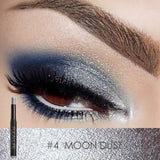 FOCALLURE 12 Colors Eyeshadow Sticker Cosmetics Eye Shadow Pencil Highlighter Shimmer Eyes Makeup Eye Shadow Eye Liner - Don't Abbreviate Me