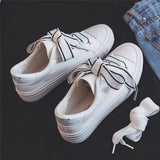 Unabbreviated Shoes Spring Flat Heel Female Fashion Canvas Shoes Butterfly-knot - Don't Abbreviate Me