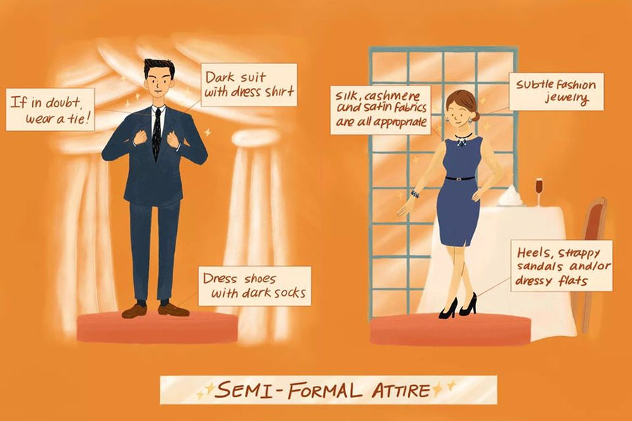 Semi-Formal Attire Guidelines (Part 2)