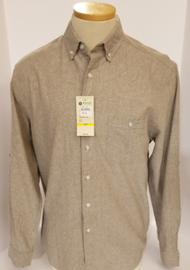LONG-SLEEVE LIGHT-WEIGHT WASHABLE-LINEN SHIRT