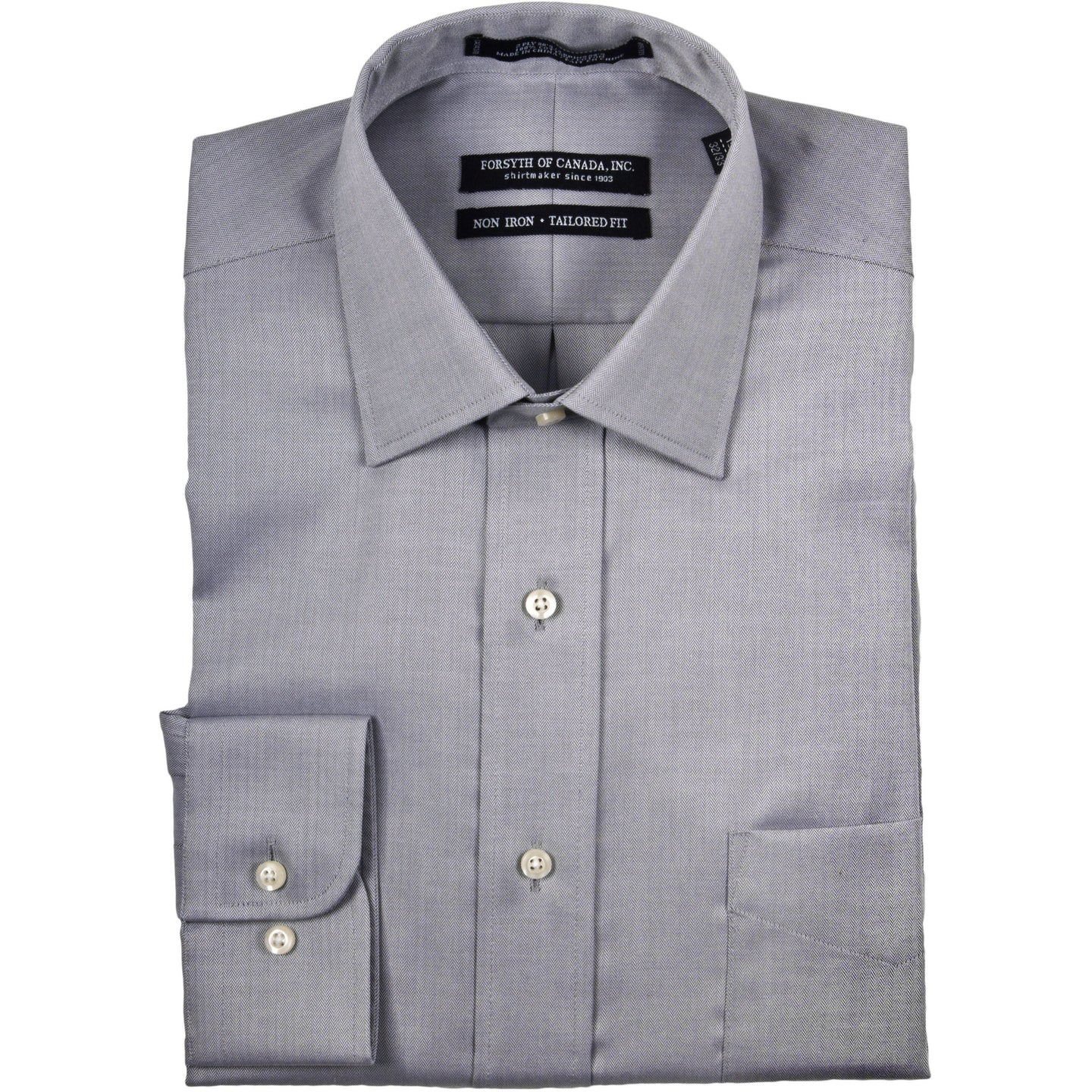 LONG SLEEVE DRESS SHIRT NON IRON-The Men's Shoppe & Her Boutique