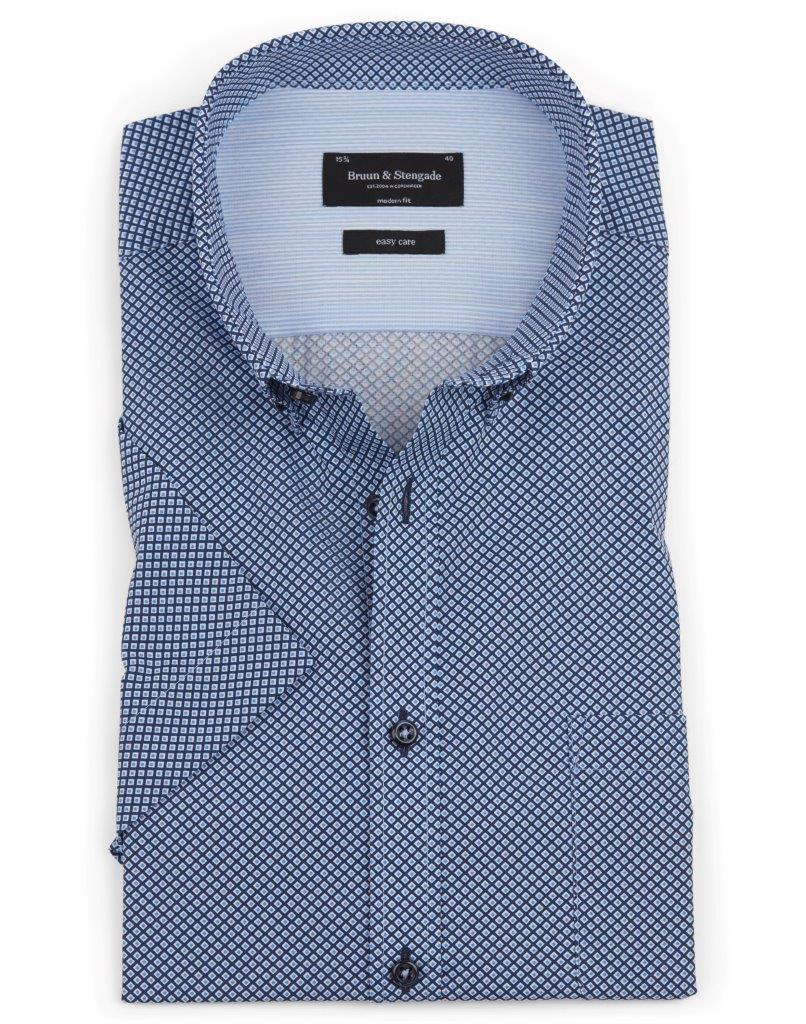 GANDZE PRINTED S/S BUTTON DOWN-The Men's Shoppe & Her Boutique
