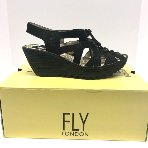 FLY CUPIDO BLACK SANDAL