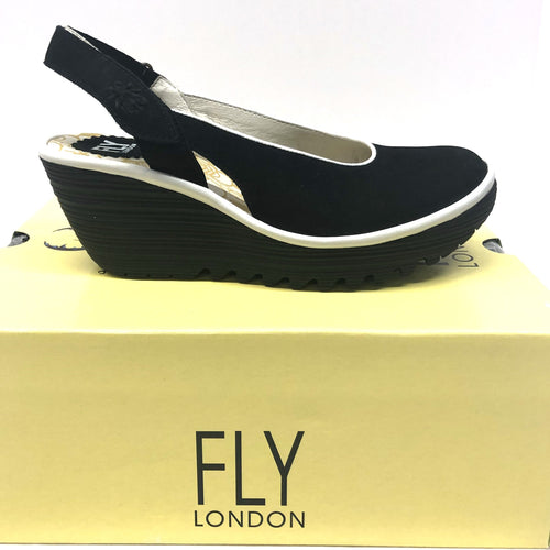 FLY CUPIDO BLACK/OFF WHITE OPEN BACK