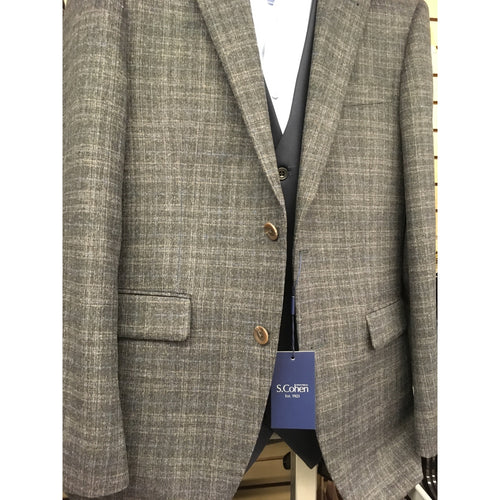 SETH PLAID SPORT JACKET-The Men's Shoppe & Her Boutique