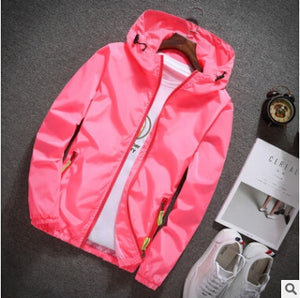 Thin Hooded Windbreaker - Veignity
