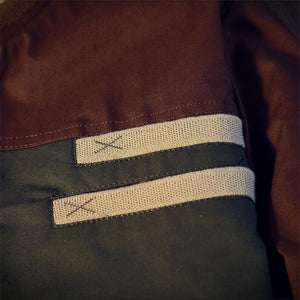 Men's Brown Varsity Jacket - Veignity