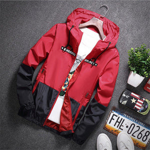 Casual Hooded Bomber Jacket - Veignity
