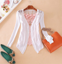 Lace Knitted Cardigan - Veignity