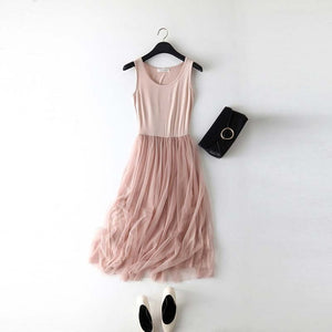 Gauze Lace Sundress - Veignity