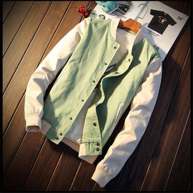 Men's Casual Baseball Jacket - Veignity