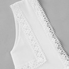 Lace Ruffle Crop Top - Veignity
