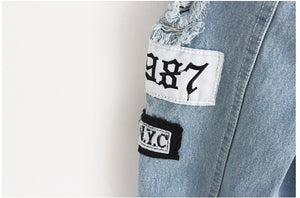 'Where is my mind?' Women's Denim Jacket - Veignity