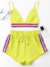 Color Block Two Piece Set - Veignity