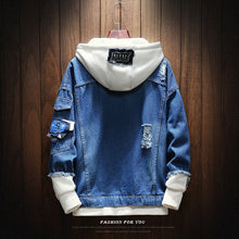 Hooded Denim Jacket - Veignity