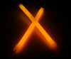 "6"" Orange Premium Glow Sticks"