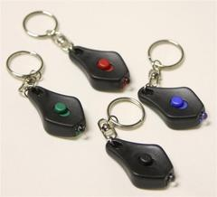LED MicroLight Keychains - All Colors