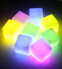 White Glow Ice Cubes