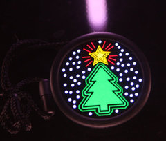 E-Lite Xmas Badge - Xmas Tree
