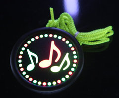 E-Lite Badge - Music Notes