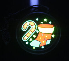 E-Lite Xmas Badge - Candy & Stocking