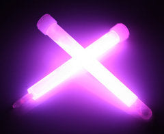 "6"" Purple Premium Jumbo Glow Sticks"