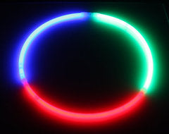 Tri-Color RGB Glow Necklaces
