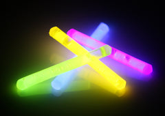 "1.5"" Assorted Color Mini Glow Sticks"