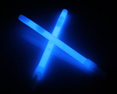 "6"" Blue Premium Glow Sticks"