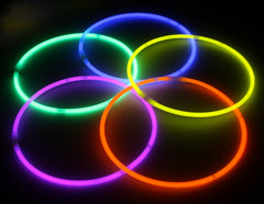 Yellow Color Superior Quality Glow Necklaces