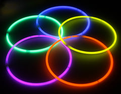 Orange Color Premium Glow Necklaces