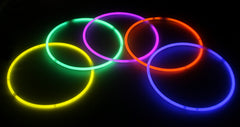 Assorted Color Superior Quality Glow Necklaces