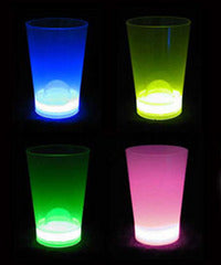 Blue 6oz Glow Party Cup