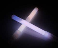 "4"" White Premium Glow Sticks"