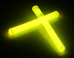 "1.5"" Yellow Mini Glow Sticks"