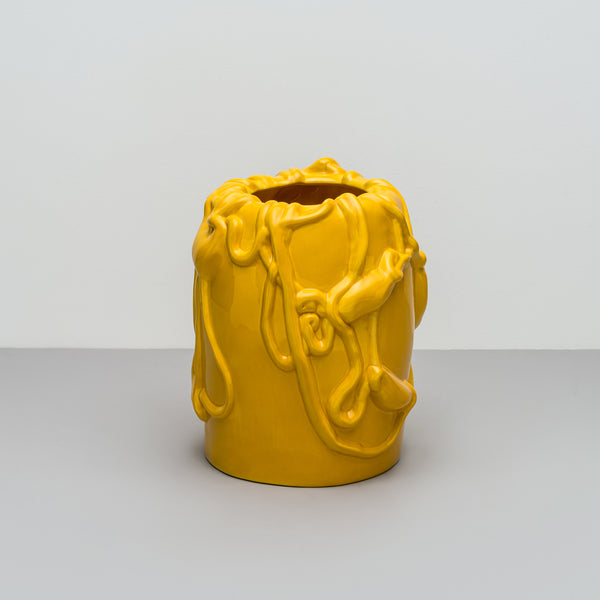 Kvium - Vase - Empire Yellow