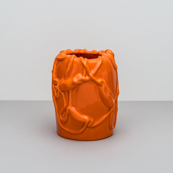 Kvium - Vase - Persimmon Orange