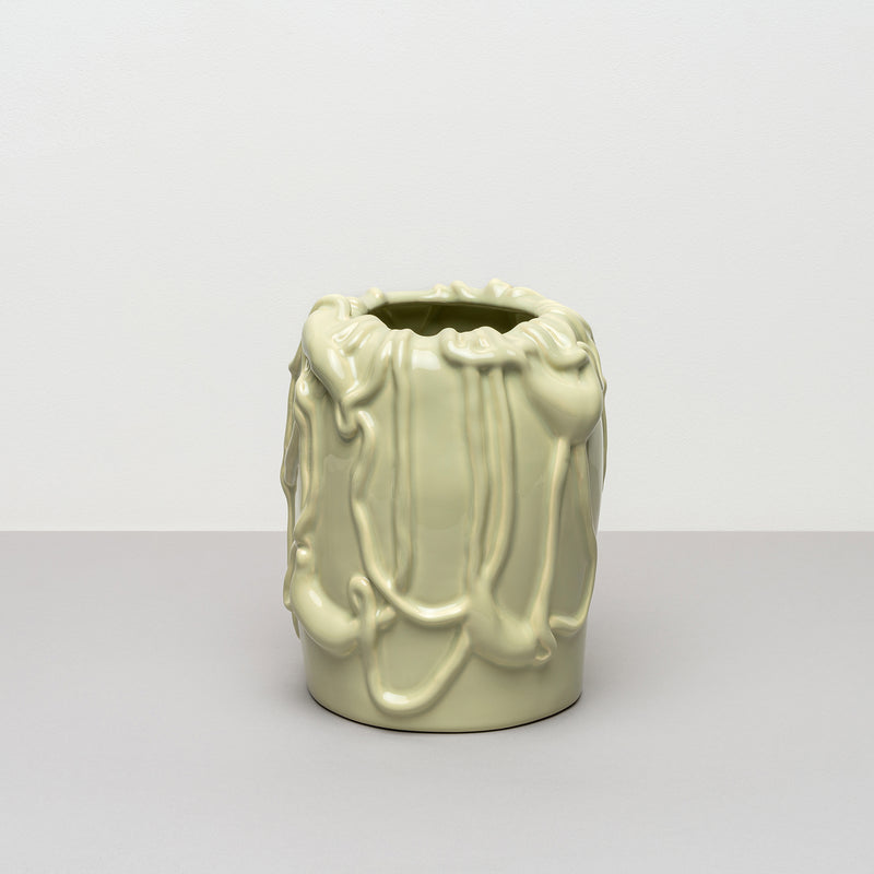 Michael Kvium - Jam - vase - pale green