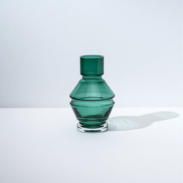 raawii Relæ - Small Glass Vase Vase Bristol Green