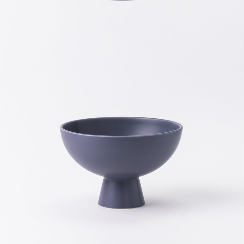 Strøm - large bowl - purple ash