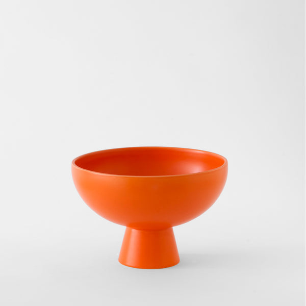 raawii Strøm - Large Bowl Bowl Vibrant Orange