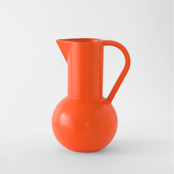 raawii Strøm - Large Jug Jug Vibrant Orange