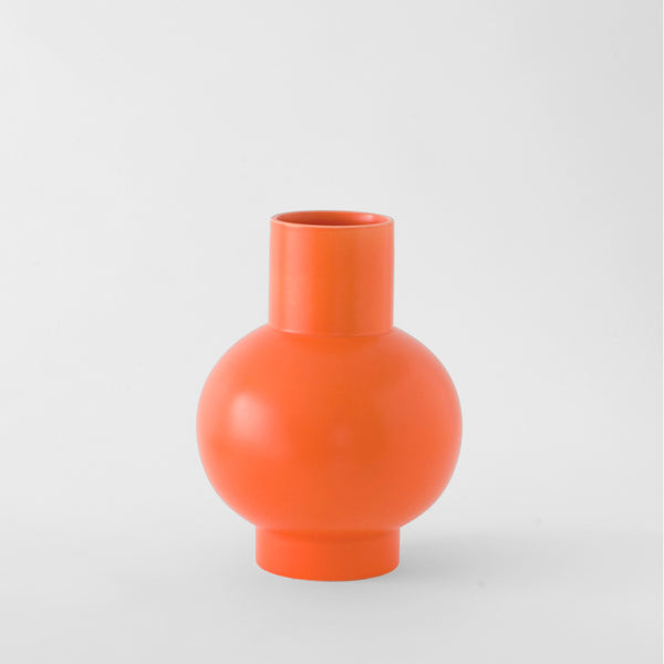 Strøm - Large Vase - Vibrant Orange